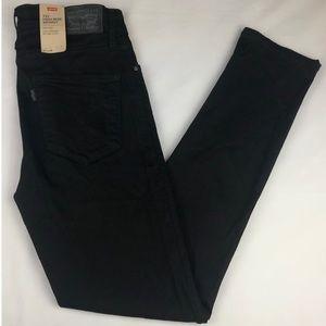 New Levi's High Rise Skinny Black Jeans (27x28)